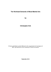 workload thesis 1 chapter 1 introduction and rationale the objective of this thesis is to investigate the relationship between mental workload and the length.