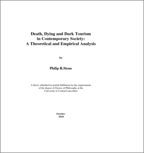 dark tourism dissertations Help for research papers dark tourism dissertation diversity in the usa essay help me to do homework.