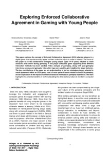 Exploring enforced collaborative agreement in gaming with young preview platinumwayz